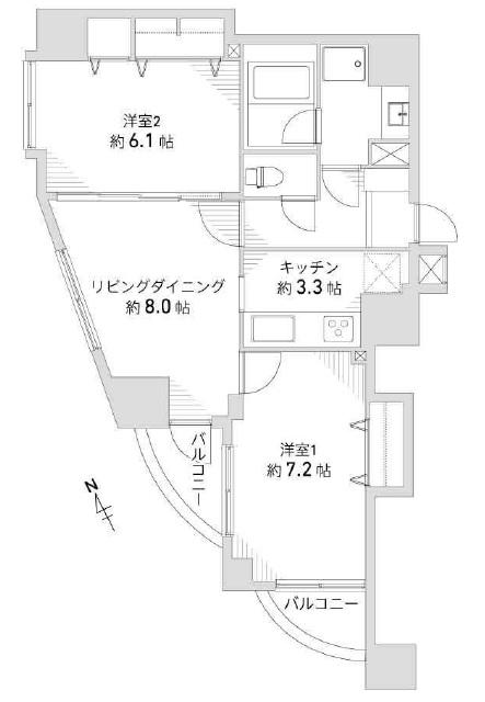 中古マンション 【駅近 リノベーション】ドミール東府中
