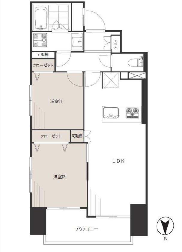 中古マンション 府中ガーデンハウス 7階