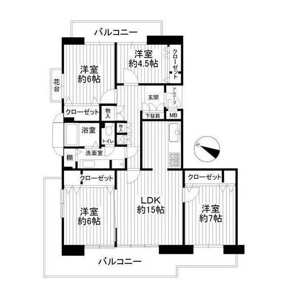中古マンション 【リノベーション】ヒルサイドテラス豊ヶ丘3号棟