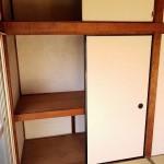 和室部分の収納容量も多くなっています。