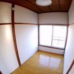 3帖の洋室は書斎に最適(内装)