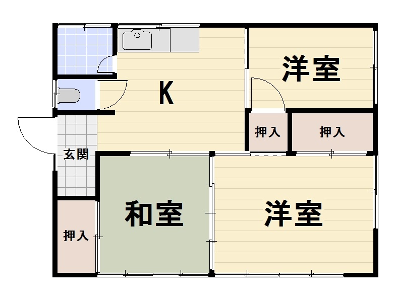【JR谷保駅 徒歩2分 平屋賃貸】遠藤邸5号室