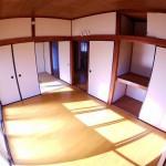 二面採光の洋室は陽当りと風通しが自慢の一室(内装)