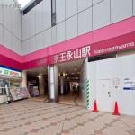 京王相模原線「京王永山」駅 距離640m