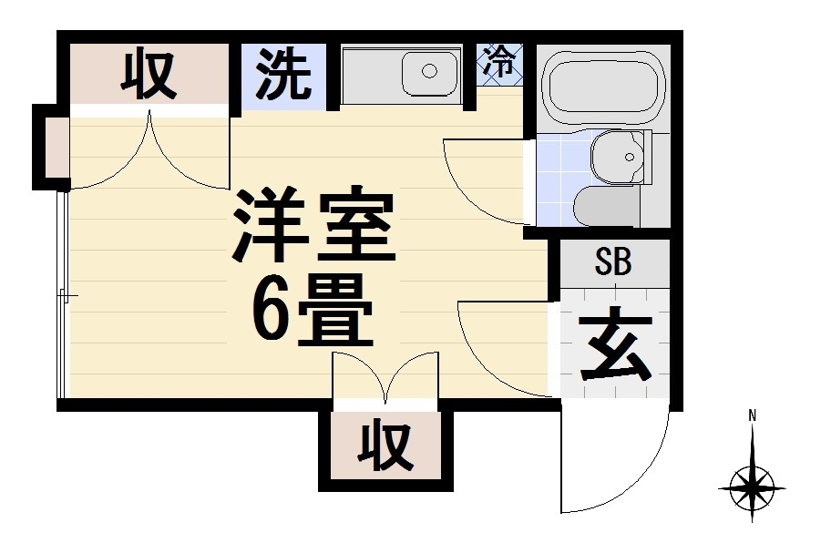【立川羽衣町 賃貸】佐藤アパート 閑静な住宅街 住環境良好